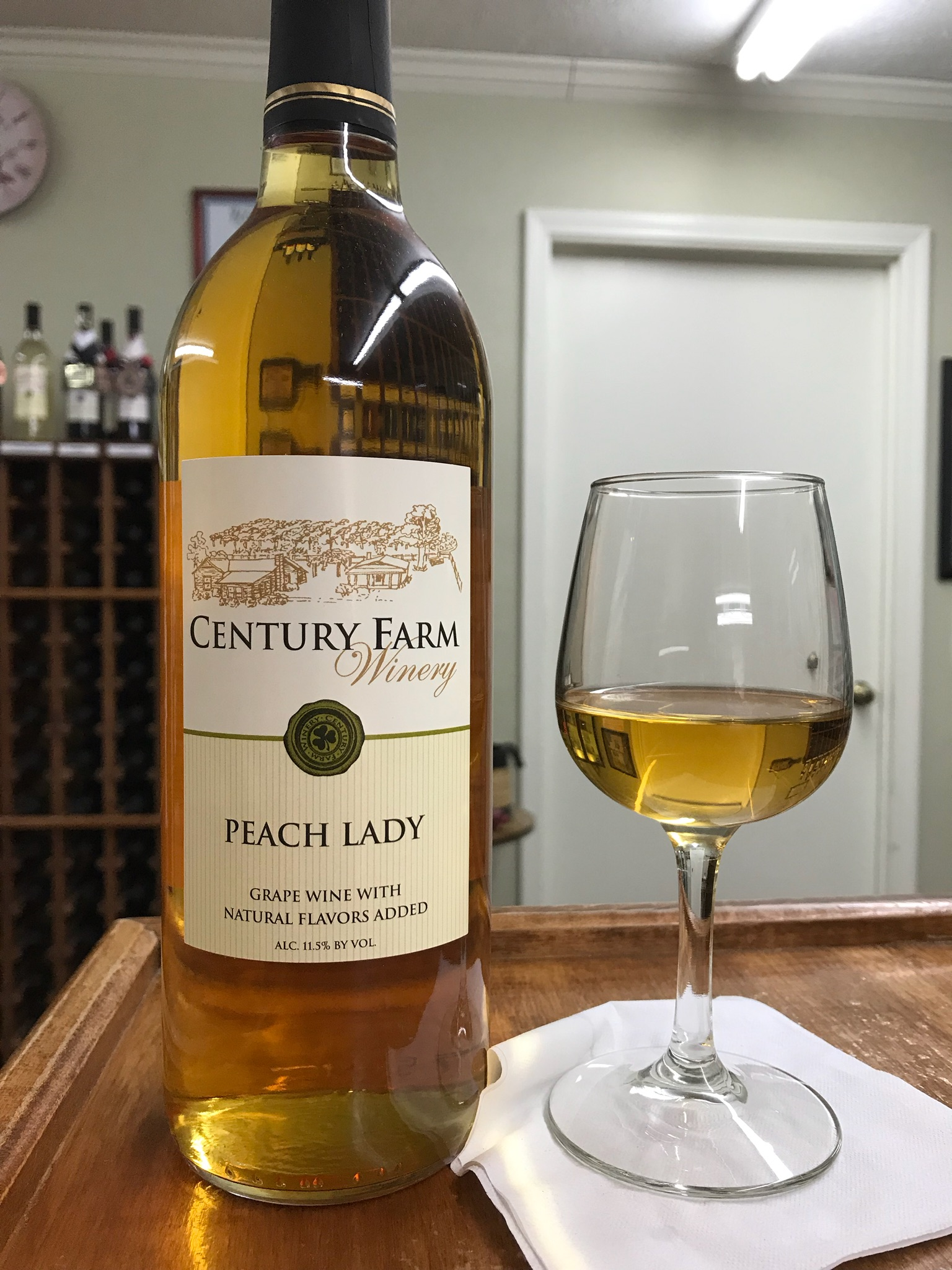 Peach Lady – January Wine Of The Month