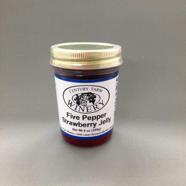 Five Pepper Strawberry Jelly
