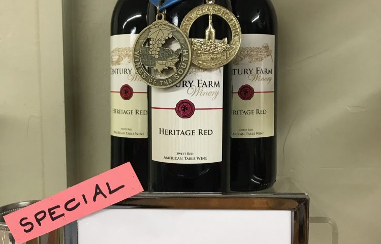 January 2019 Wine Of The Month